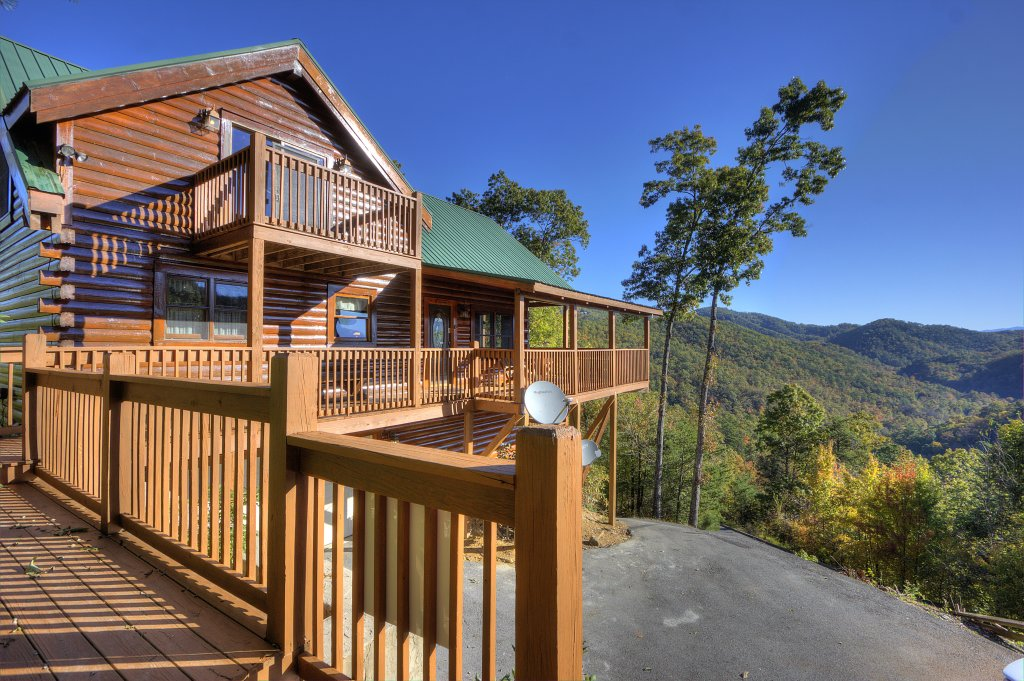 Photo of a Sevierville Cabin named Eagle's View #356 - This is the fourteenth photo in the set.