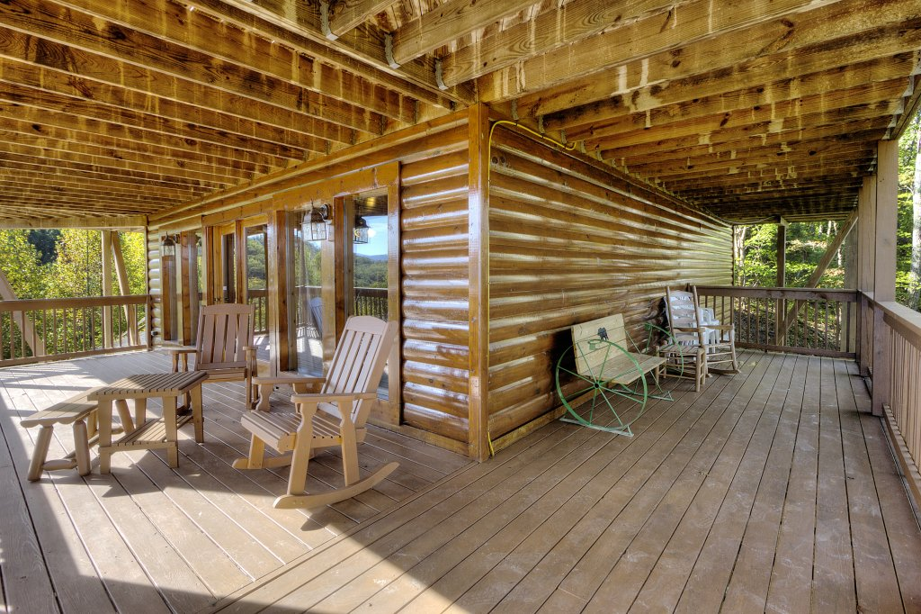 Photo of a Sevierville Cabin named Eagle's View #356 - This is the forty-second photo in the set.