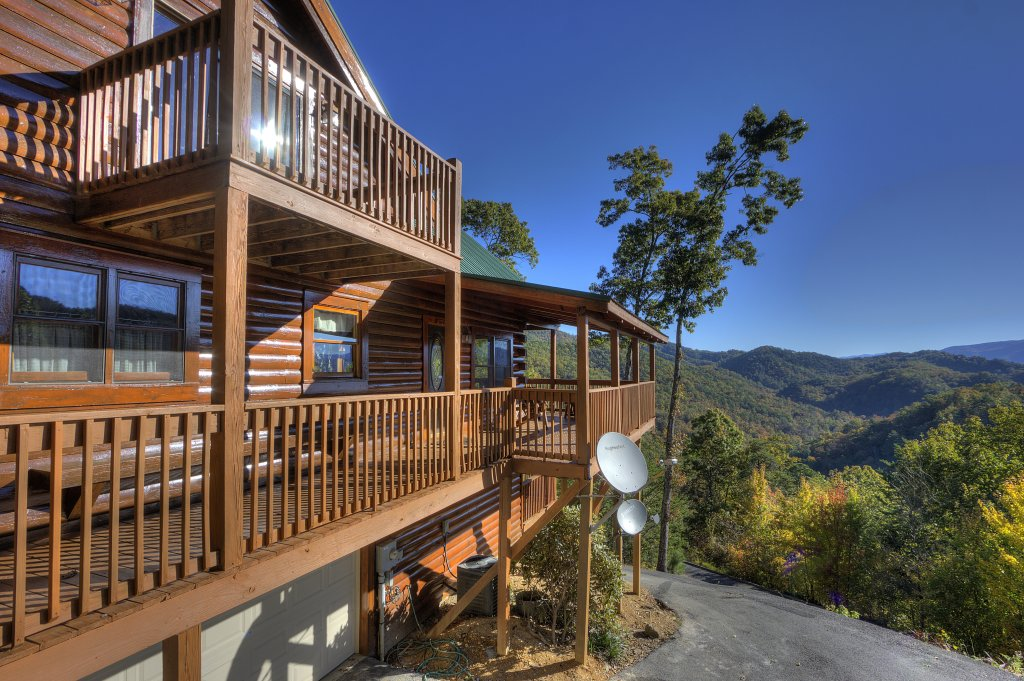 Photo of a Sevierville Cabin named Eagle's View #356 - This is the fifty-ninth photo in the set.