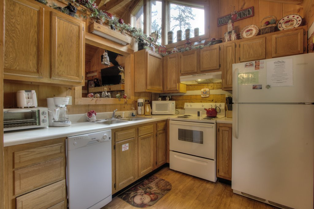 Photo of a Sevierville Cabin named Apple Bear View #116 - This is the eighth photo in the set.