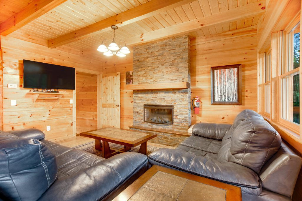 Photo of a Gatlinburg Cabin named Mountainside Escape - This is the second photo in the set.