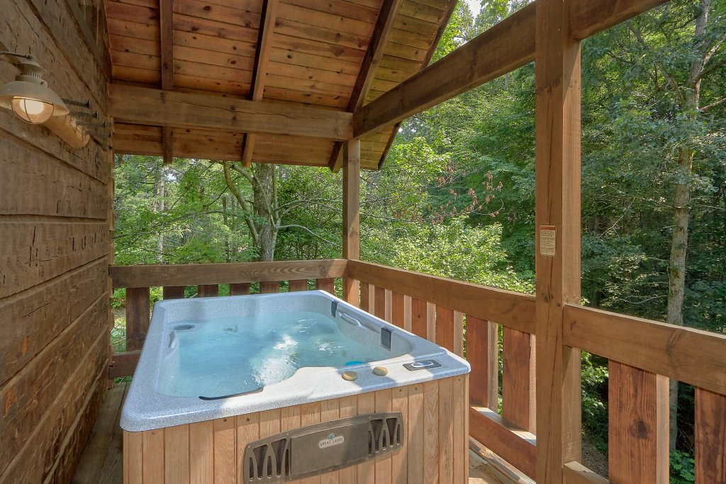 Photo of a Gatlinburg Cabin named Eagles Roost - This is the third photo in the set.