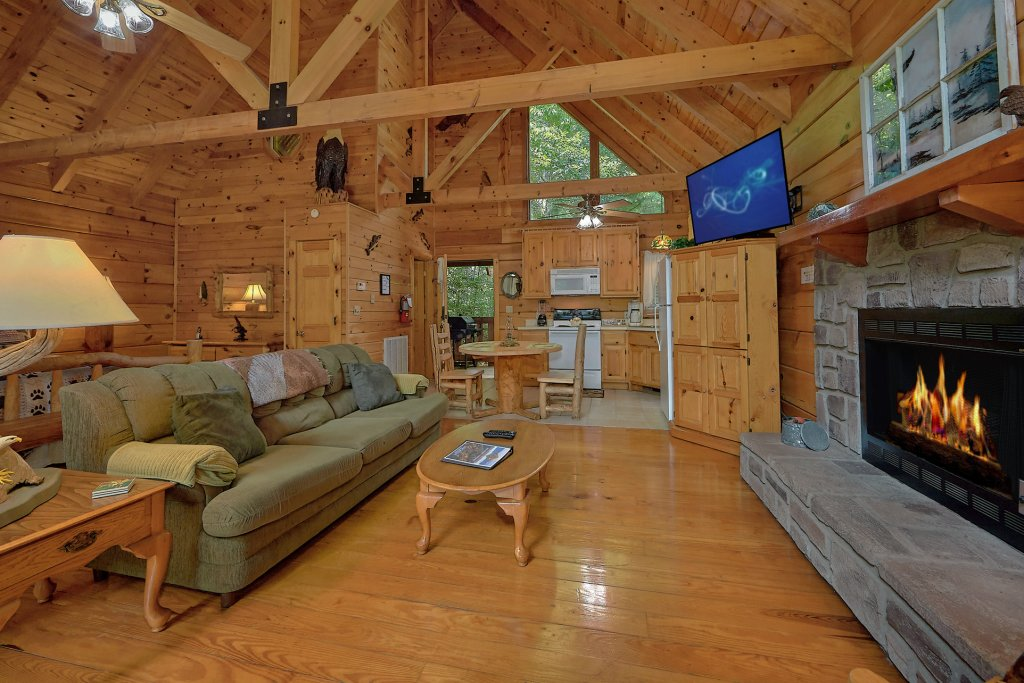 Photo of a Gatlinburg Cabin named Eagles Roost - This is the twelfth photo in the set.