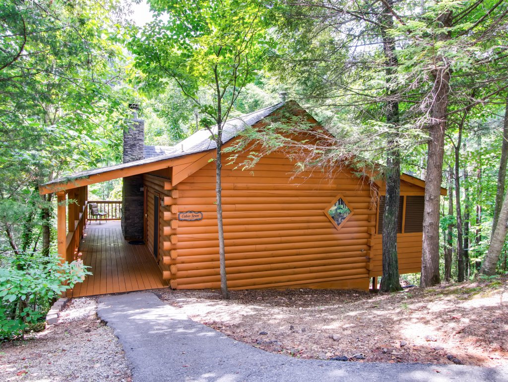 Photo of a Sevierville Cabin named Cabin Fever #117 - This is the first photo in the set.