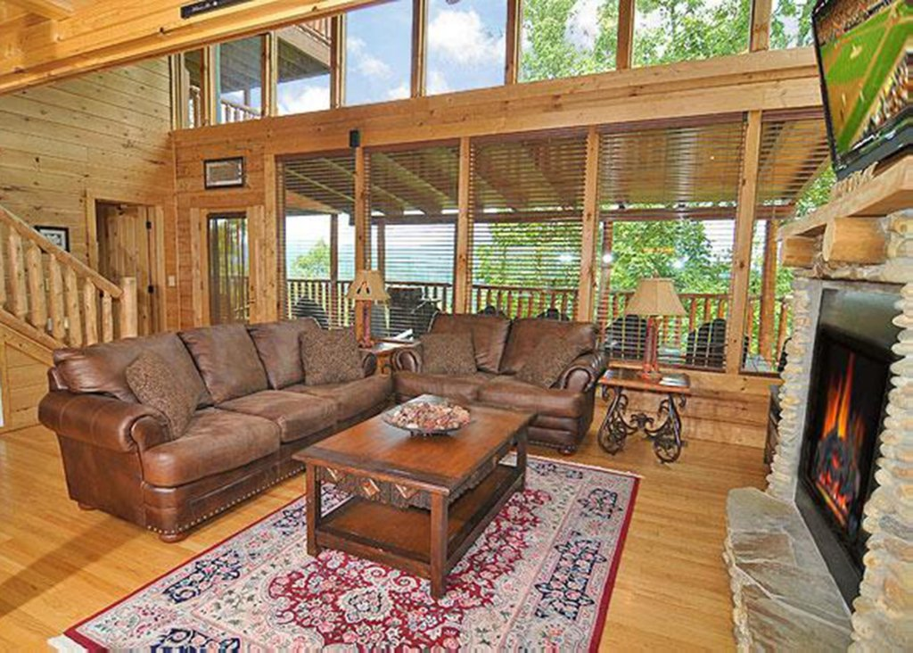 Photo of a Sevierville Cabin named Halfway To Heaven #40 - This is the seventh photo in the set.