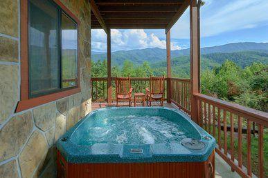 Amazing Views From  Your Private 3 Bedroom Cabin