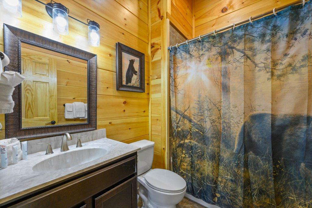 Photo of a Gatlinburg Cabin named Bear Splash Adventure - This is the twentieth photo in the set.