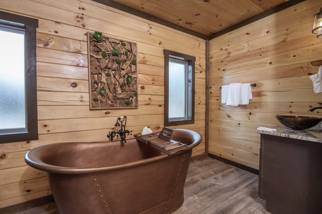 Photo of a Sevierville Cabin named  Eagle Falls - This is the twenty-second photo in the set.