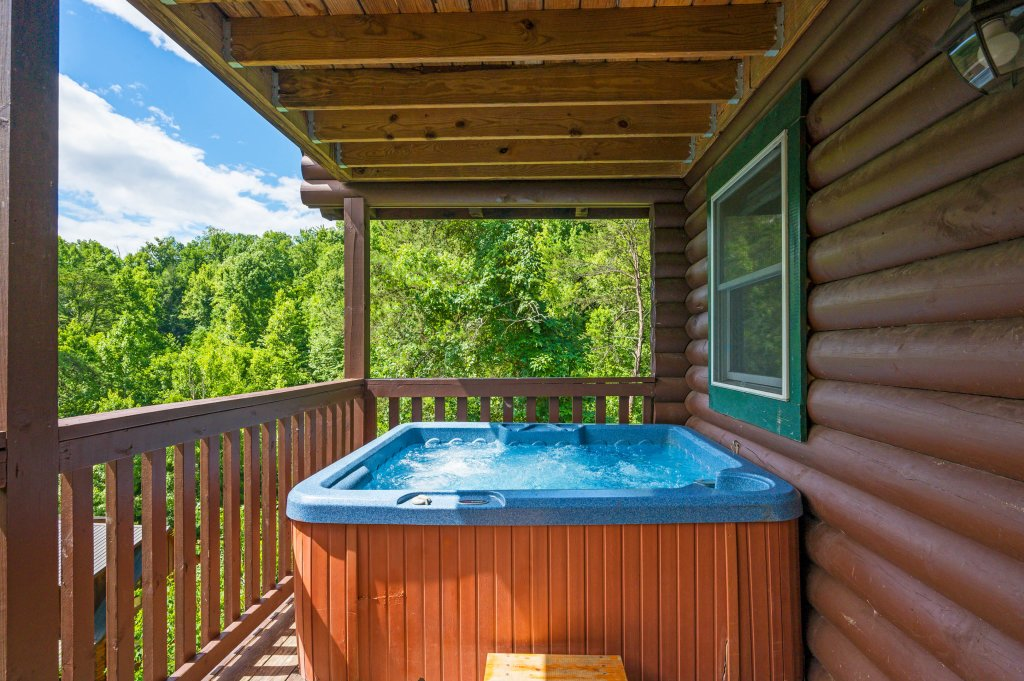 Photo of a Pigeon Forge Cabin named Wilderness Theater And Lodge - This is the seventy-third photo in the set.