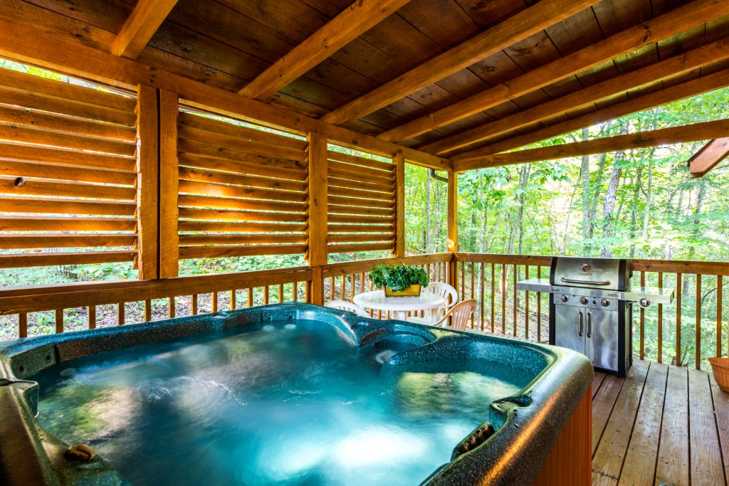 Photo of a Pigeon Forge Cabin named  Bear Naked - This is the twenty-fourth photo in the set.