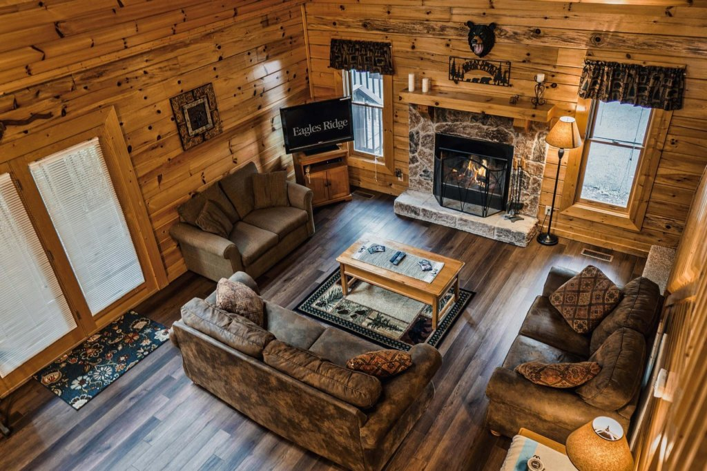 Photo of a Sevierville Cabin named Precious Memories - This is the fourth photo in the set.