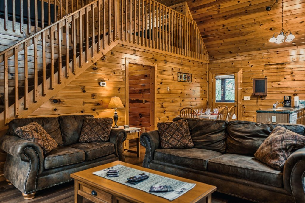 Photo of a Sevierville Cabin named Precious Memories - This is the fifth photo in the set.