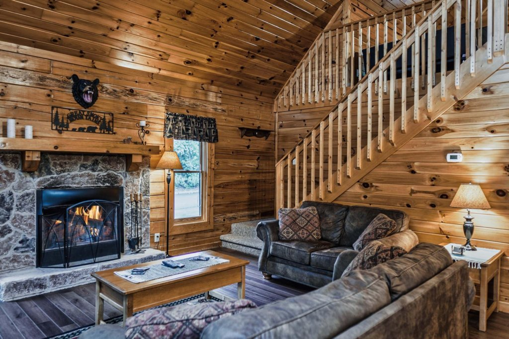 Photo of a Sevierville Cabin named Precious Memories - This is the third photo in the set.